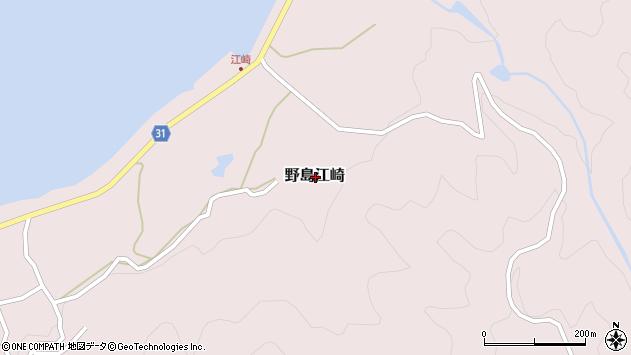〒656-1725 兵庫県淡路市野島江崎(その他)の地図
