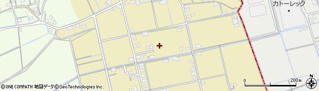 岡山県倉敷市中帯江周辺の地図