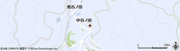 愛知県田原市和地町(中谷ノ田)周辺の地図