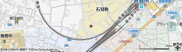 岡山県倉敷市石見町周辺の地図