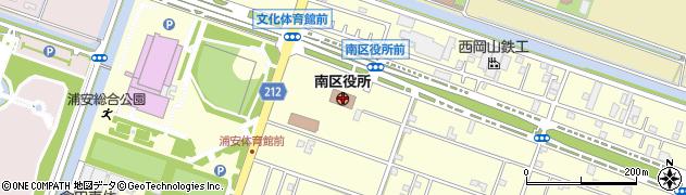 岡山県岡山市南区周辺の地図