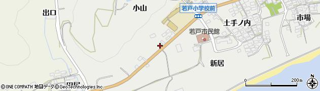 愛知県田原市若見町(小山)周辺の地図
