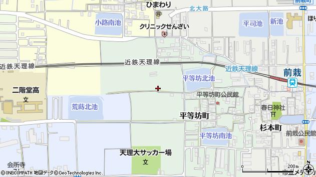 〒632-0077 奈良県天理市平等坊町の地図