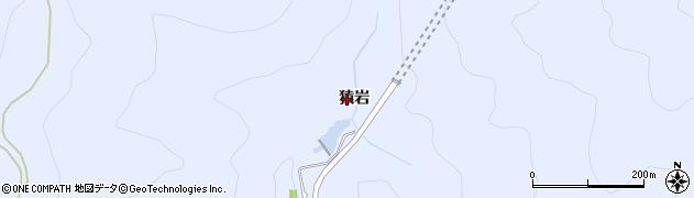 愛知県田原市和地町(猿岩)周辺の地図