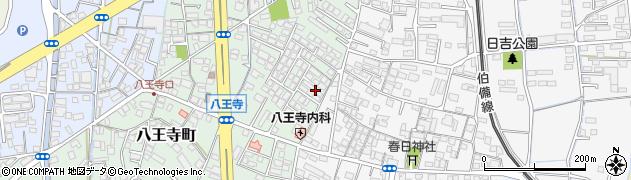 岡山県倉敷市八王寺町周辺の地図