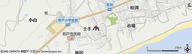 愛知県田原市若見町(土手ノ内)周辺の地図