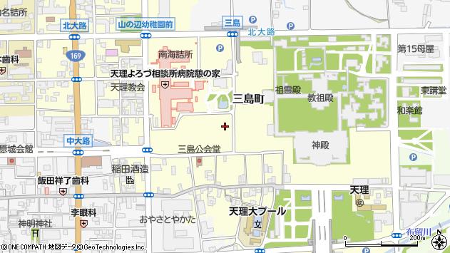〒632-0015 奈良県天理市三島町の地図