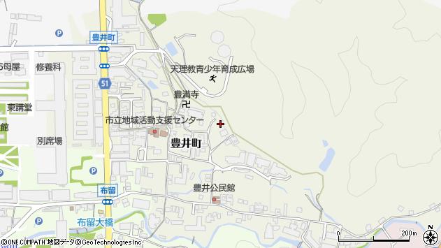 〒632-0013 奈良県天理市豊井町の地図
