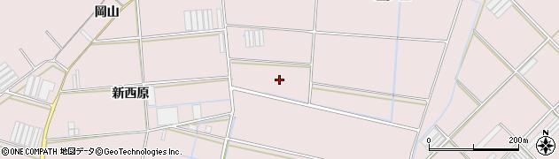 愛知県田原市堀切町(西原)周辺の地図
