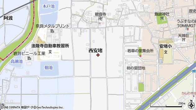 〒639-1066 奈良県生駒郡安堵町西安堵の地図