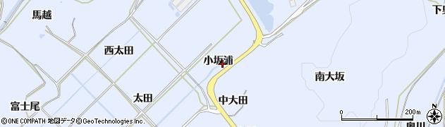 愛知県田原市和地町(小坂浦)周辺の地図