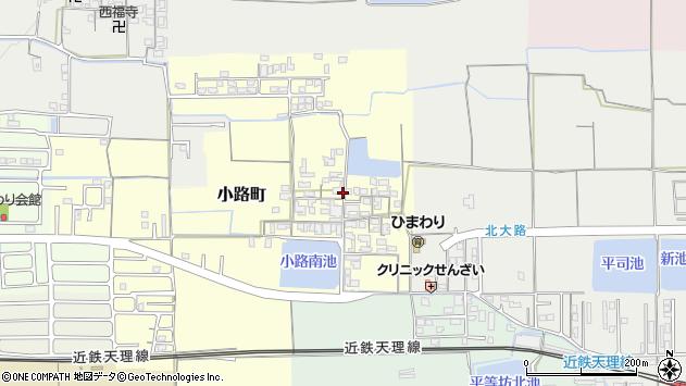 〒632-0096 奈良県天理市小路町の地図