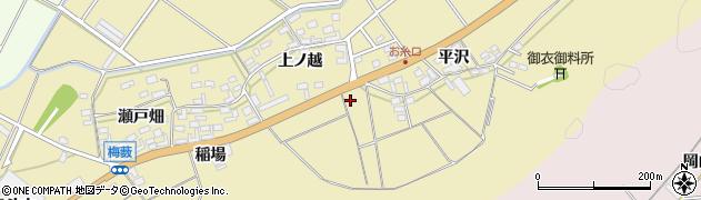 愛知県田原市亀山町(稲場)周辺の地図