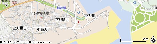 愛知県田原市池尻町(下り畑)周辺の地図