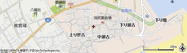 愛知県田原市池尻町周辺の地図