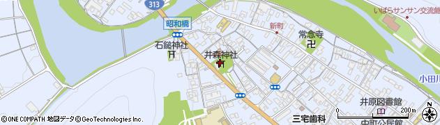 井森神社周辺の地図