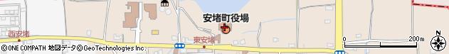 奈良県生駒郡安堵町周辺の地図