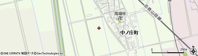 三重県松阪市中ノ庄町周辺の地図
