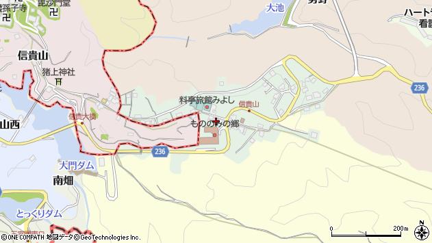 〒636-0831 奈良県生駒郡三郷町信貴山東の地図