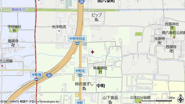 〒632-0097 奈良県天理市中町の地図