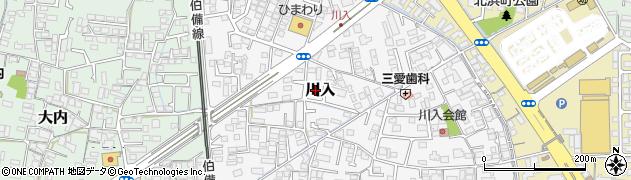 岡山県倉敷市川入周辺の地図