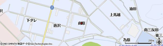 愛知県田原市小塩津町(南原)周辺の地図