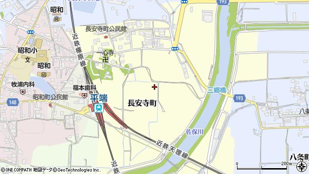 〒639-1127 奈良県大和郡山市長安寺町の地図