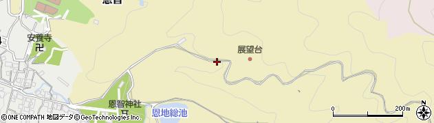 大阪府八尾市恩智周辺の地図