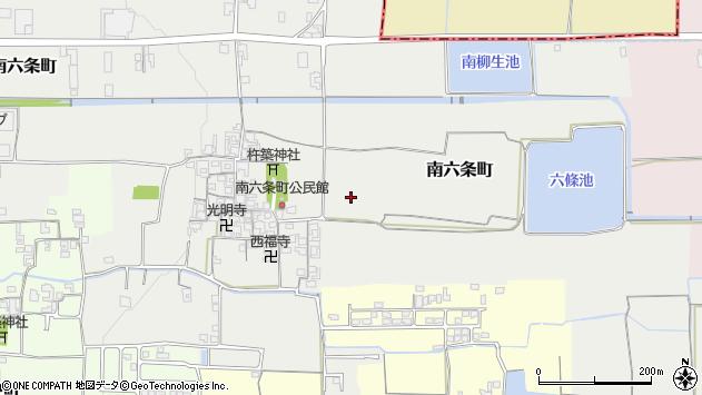 〒632-0098 奈良県天理市南六条町の地図