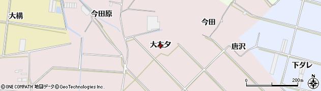 愛知県田原市堀切町(大左夕)周辺の地図