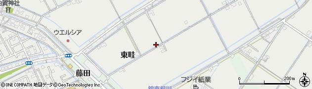 岡山県岡山市南区東畦周辺の地図