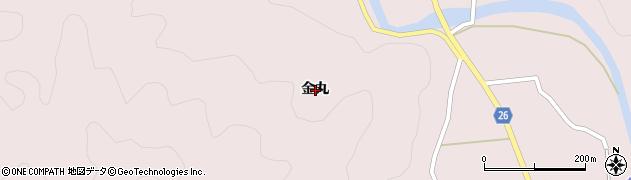 広島県福山市新市町(金丸)周辺の地図