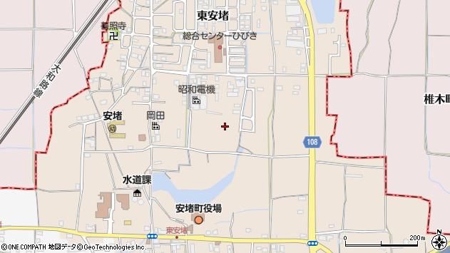 〒639-1061 奈良県生駒郡安堵町東安堵の地図