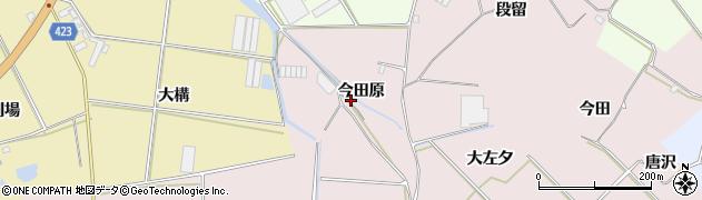 愛知県田原市堀切町(今田原)周辺の地図
