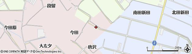 愛知県田原市堀切町(今田)周辺の地図