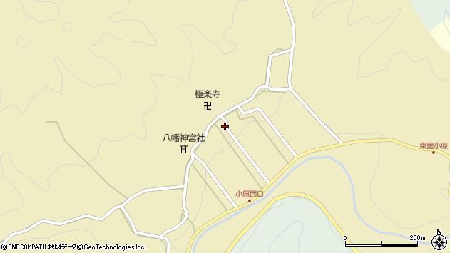 〒632-0204 奈良県宇陀市室生小原の地図