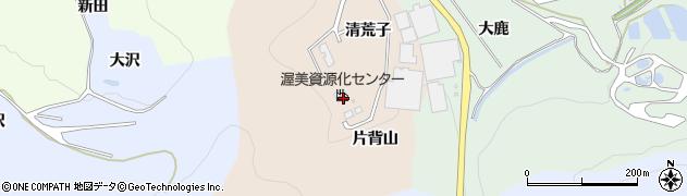 愛知県田原市福江町(清荒子)周辺の地図
