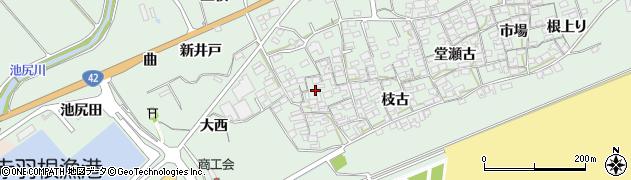 愛知県田原市赤羽根町(西)周辺の地図
