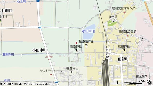 〒632-0092 奈良県天理市小田中町の地図