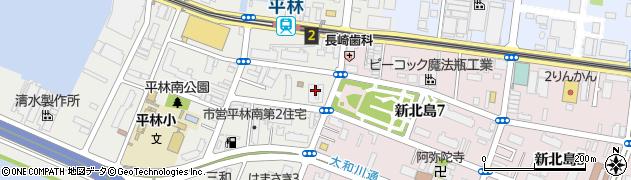 平林南住宅周辺の地図