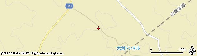 山口県萩市須佐(金井)周辺の地図