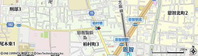 大阪府八尾市柏村町周辺の地図