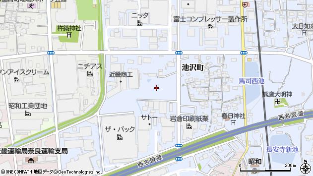 〒639-1032 奈良県大和郡山市池沢町の地図