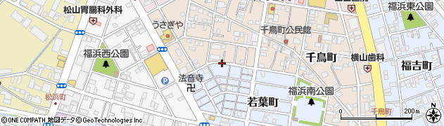 岡山県岡山市南区千鳥町周辺の地図