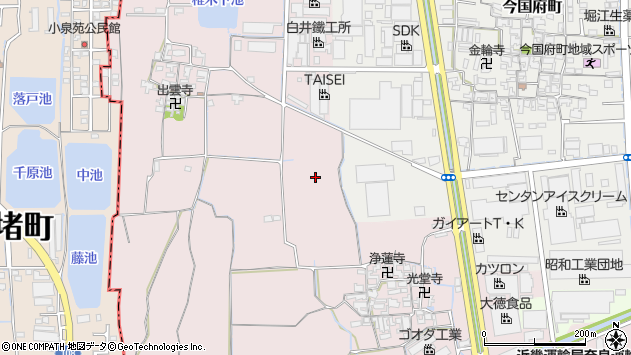 〒639-1039 奈良県大和郡山市椎木町の地図
