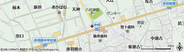 有限会社赤羽根観光周辺の地図