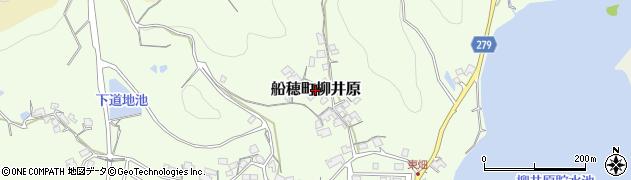 岡山県倉敷市船穂町柳井原周辺の地図