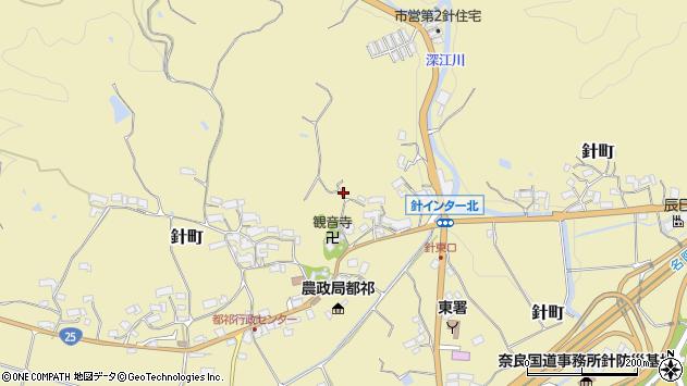 〒632-0251 奈良県奈良市針町の地図