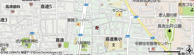 伝了寺周辺の地図