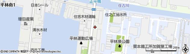 平林ビル周辺の地図